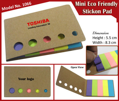 Mini Eco Friendly Stick On Pad