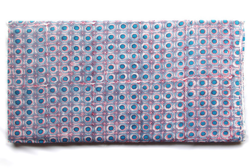 Polka Dot Blue Matching Cotton Fabric