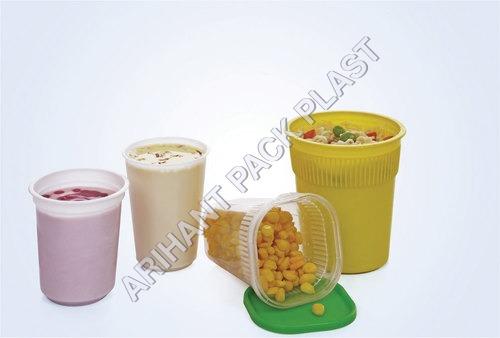 Plastic Hot Corn Container