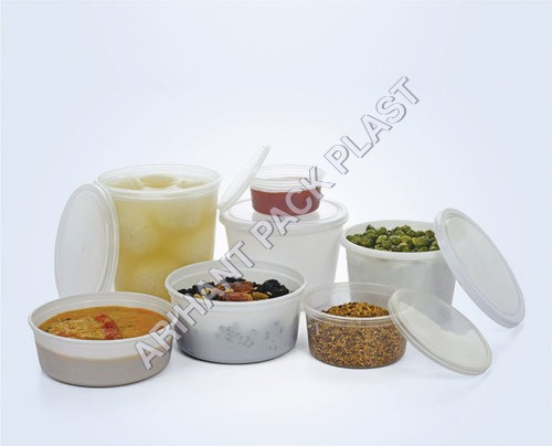 Plastic Maggi Containers / Poha Container