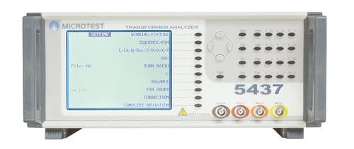 Fully Automatic Transformer Tester