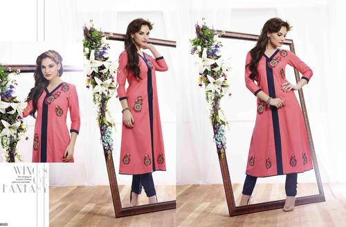 Beautiful Kurtis Collection In Embroidery Work