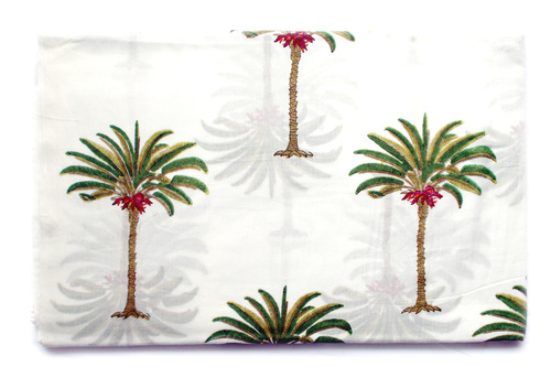 Coconut Print Cotton Fabric