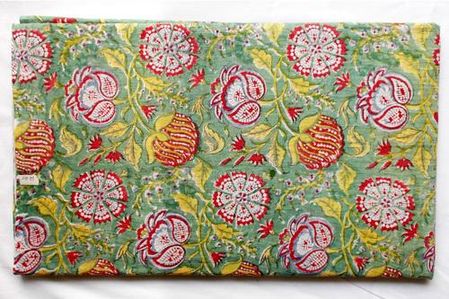 Mughal Big Cotton Fabric