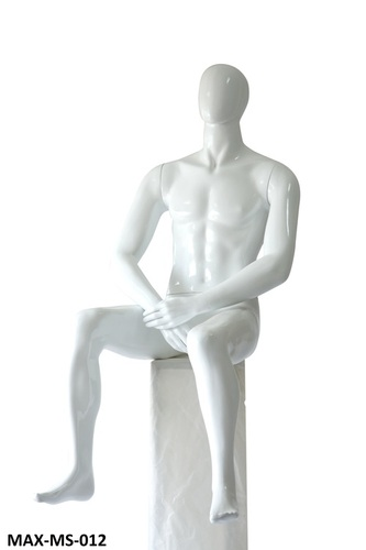 Sitting Male Mannequins