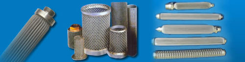 Stainless Steel Pleated Filter Cartridge