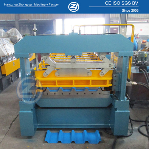 Automatic Machine For Making Roof Sheets