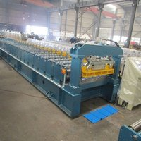 Iron Roofing Sheet Roll Forming Making Machine