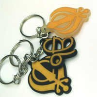 Designer PVC Key Chains