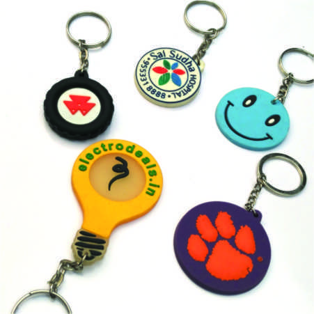 Silicone Key Chains