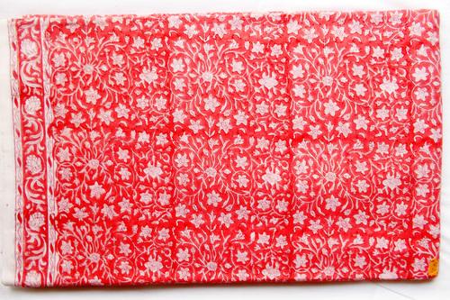 Pink Mughal Cotton Fabric