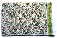 Green Chameli Cotton Print