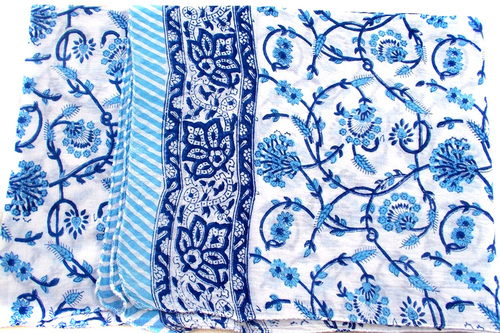 Mughal Print Cotton Fabric