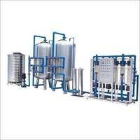 R.O Mineral Water Plant