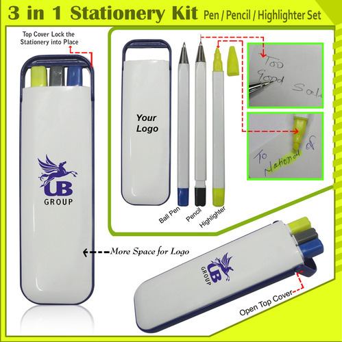 3 in 1 Stationery Set