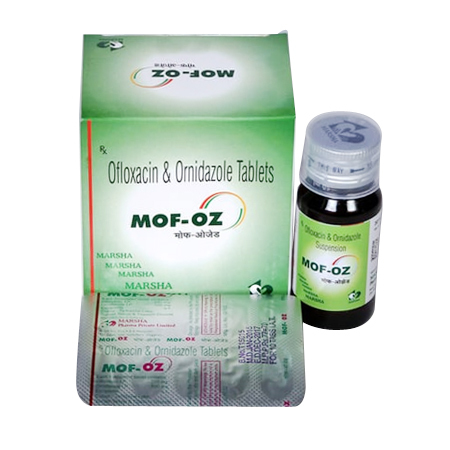 Ofloxacin and Ornidazole Tablets and Suspension
