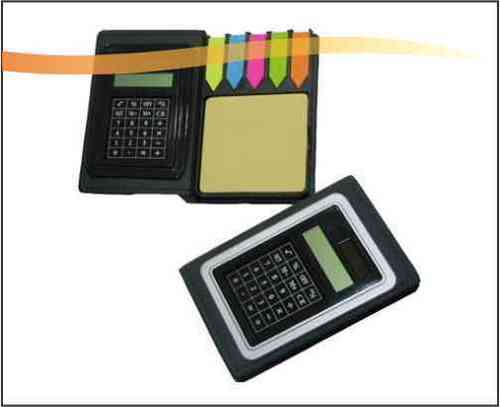 Memo Pad with Calculator