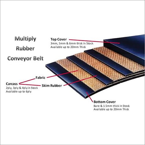 Multiply Rubber Conveyor Belt