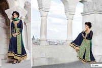 Blue Designer Anarkali Suit