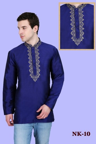 Mens Full Sleeve Short kurta