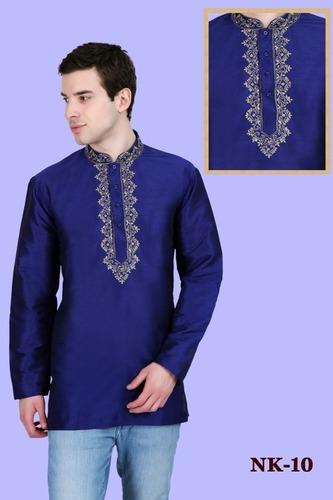 Mens Full Sleeve Short kurta