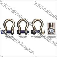 Eletech Blue Pin Bow Shackles