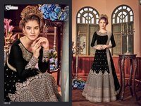 Designer wedding wear anarkali suit