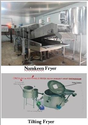 Namkeen Fryer & Tilting Machine