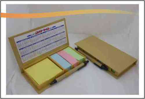Ecofriendly Memo Pad with Pen