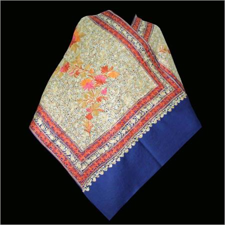 Aari Embroidery Jamawar Shawl