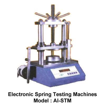 Electronic Spring Testing Machines