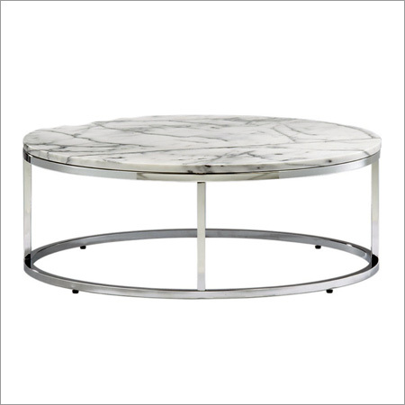Round Mini Console Table