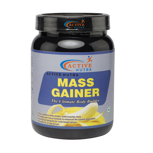 Banana Flavour Mass Gainer