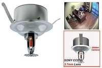 SPY CAMERA IN FIRE SPRINKLER 700TVL COLOR CAMERA IN DELHI INDIA - 9811251277