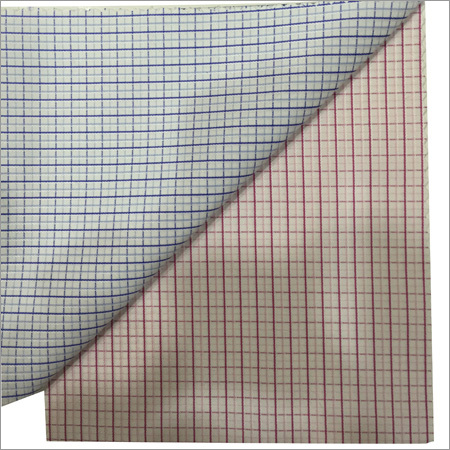 Polyester Check Fabric