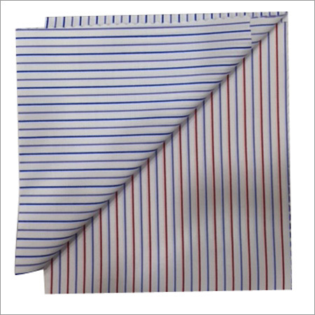 Multiple Stripes Shirting Fabric