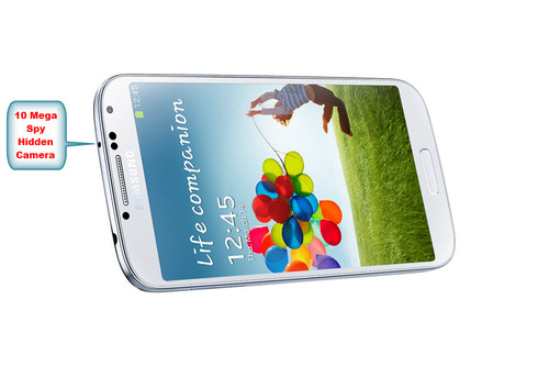 SPY HIDDEN CAMERA IN SAMSUNG GALAXY S4 PHONE