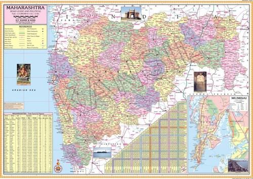 Maharashtra Political map
