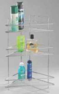 Tripple Corner Wire Shelf