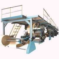 Automatic 3/5 ply paper board making plant