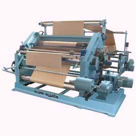 bearing monted oblique type corrugation machine