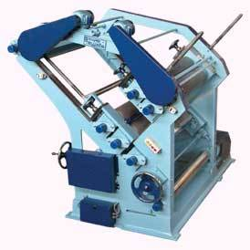 double profile single face corugation machine