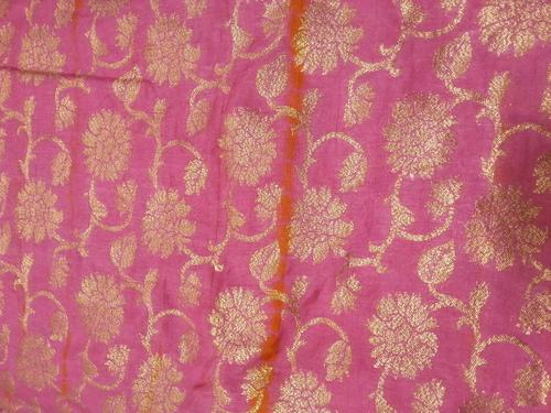 Zari Jacquard Silk Fabric