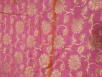 Zari Jacquard Silk Fabric