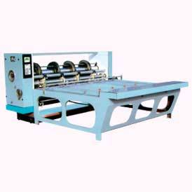 combined roatory cressing, sloting & slitting machine