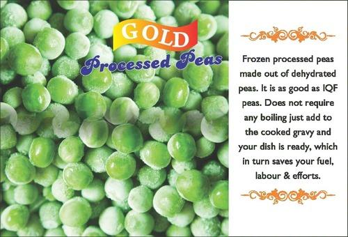 Frozen Processed Peas