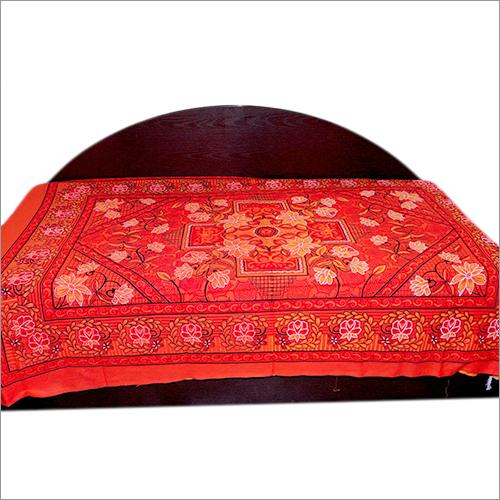 Red Bedsheet