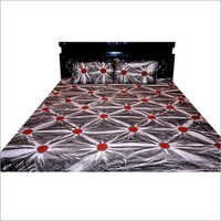 Red printed Bedsheet