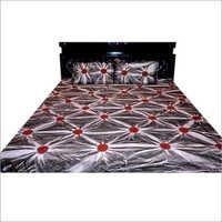 Red printed Bedsheet