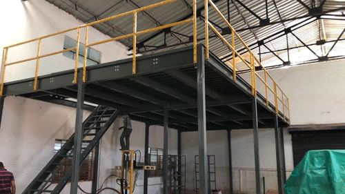 Mezzanine Floor & mezzanine supported racking and Office cabins